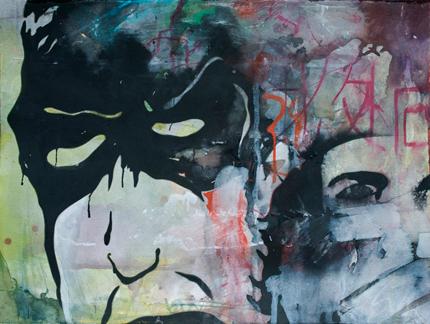 kirk Pedersen New painting